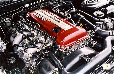 180SX with the SR20DET engine