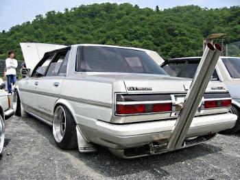 Bosozoku style Toyota Cressida GX71