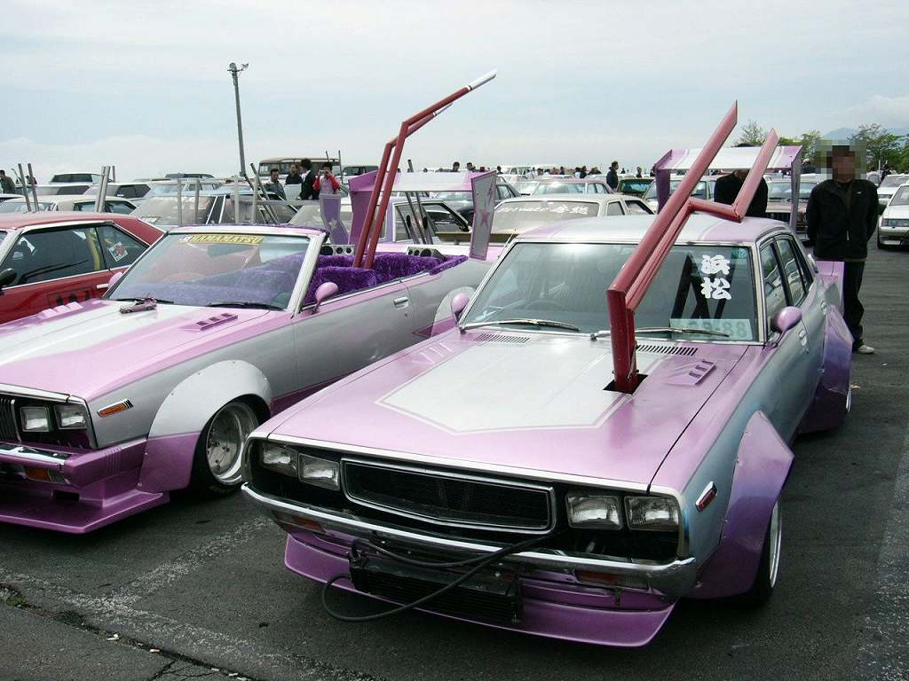 Exhaust Of The Week Inside Out Pipe Bosozoku Style