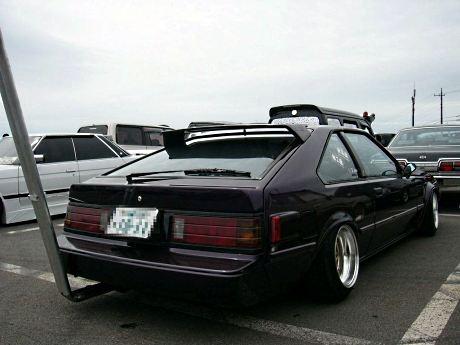 Shakotan styled Toyota Celica XX