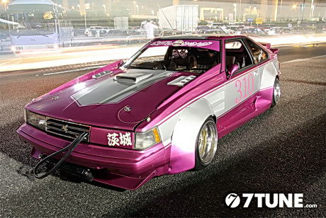 Bosozoku style Celica XX with MZ10 nose conversion