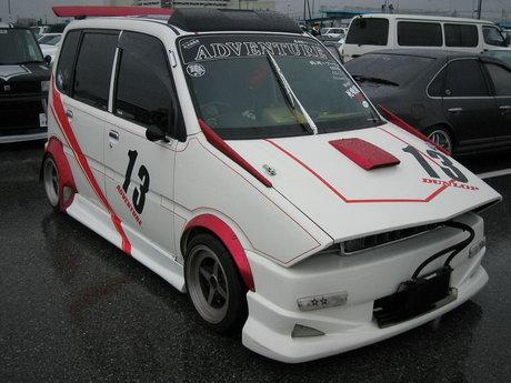 Bosozoku kei car Daihatsu Move