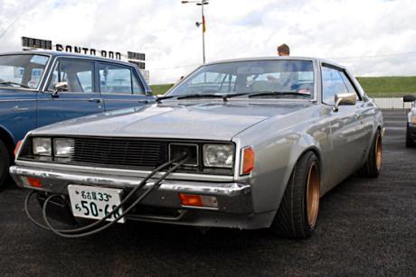 Mild Bosozoku styled Mitsubishi Galant Lambda