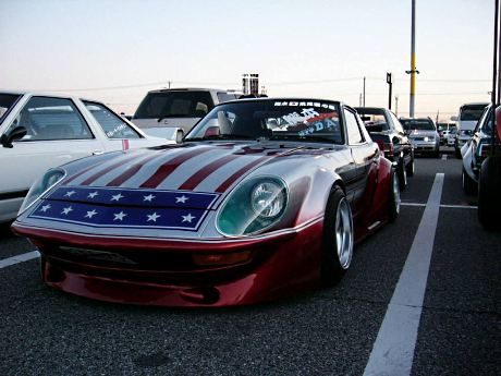 Yanky style Fairlady S30 (with stars and stripes)