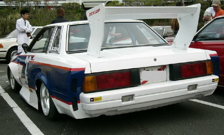 Less acurate immitation of Hoshino's Grancha Silvia Turbo
