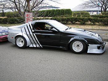 Bosozoku styled Mazda RX7 FC
