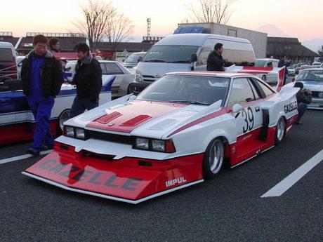 Bosozoku style Impul Silvia Turbo Super Silhouette Formula replica