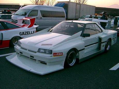 Bosozoku style Tomica Skyline RS Super Silhouette Formula replica