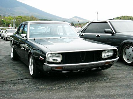 Horrible on this Kenmeri Nissan Skyline C110