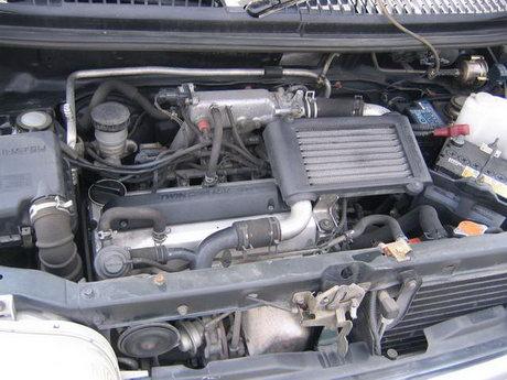 EF-DET 15 valve engine with turbo intercooler