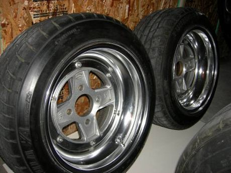 SSR Mk II 14 inch 8J with stretched tires