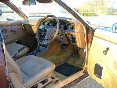 Factory stock interior Galant Lambda