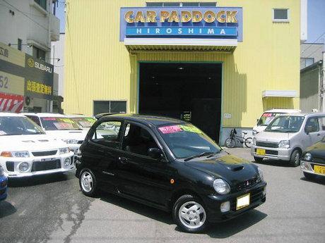 Factory stock Mitsubishi Minica SR-Z