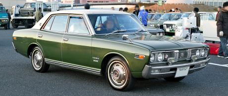 Factory stock Nissan Cedric 230