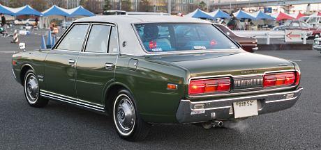 Factory stock Nissan Cedric 230