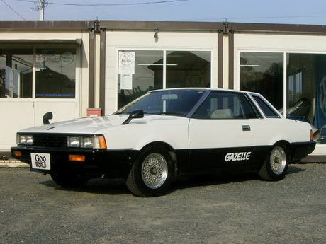 Factory stock Nissan Gazelle S110