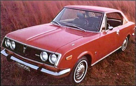 Factory stock Corona Mark II Coupe RT72