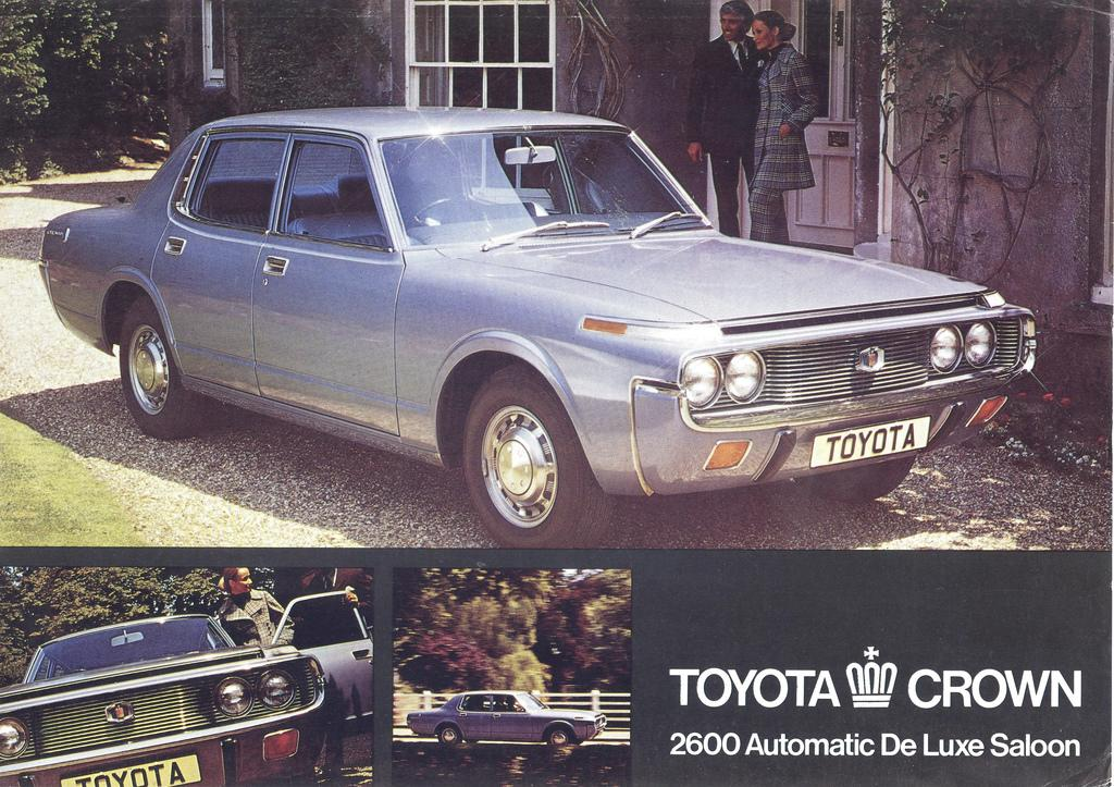 Factory stock Toyota Crown sedan MS65