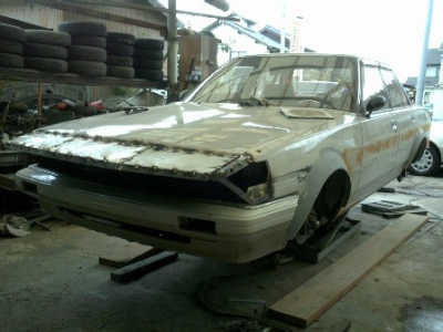 How to create your own sharknosed bosozoku style car