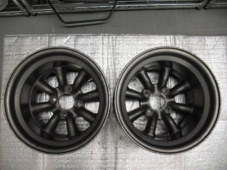 Two 12J wide 14 inch RS Wantanabe rims
