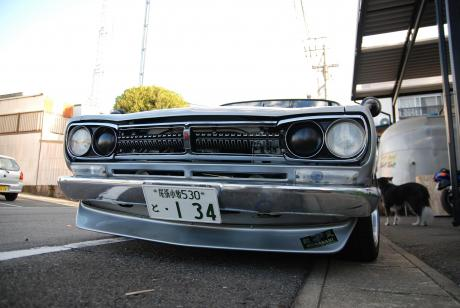 Nissan Skyline GT-R KPGC10 front face