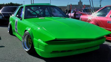 Bosozoku wallpaper: the Green Griffin Z10
