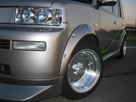 Toyota bB on SSR Mk I rims