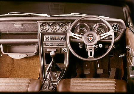 Mazda Savanna RX3 interior