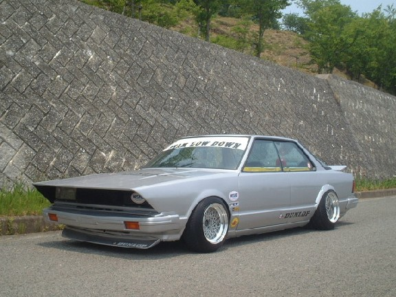 How to get in this bosozoku bluebird 910