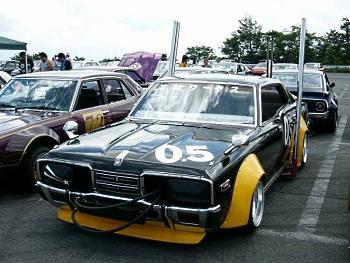 Bosozoku styled Nissan Gloria C330