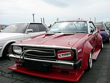 Popular Bosozoku Cars Nissan Skyline C210 Japan Bosozoku Style
