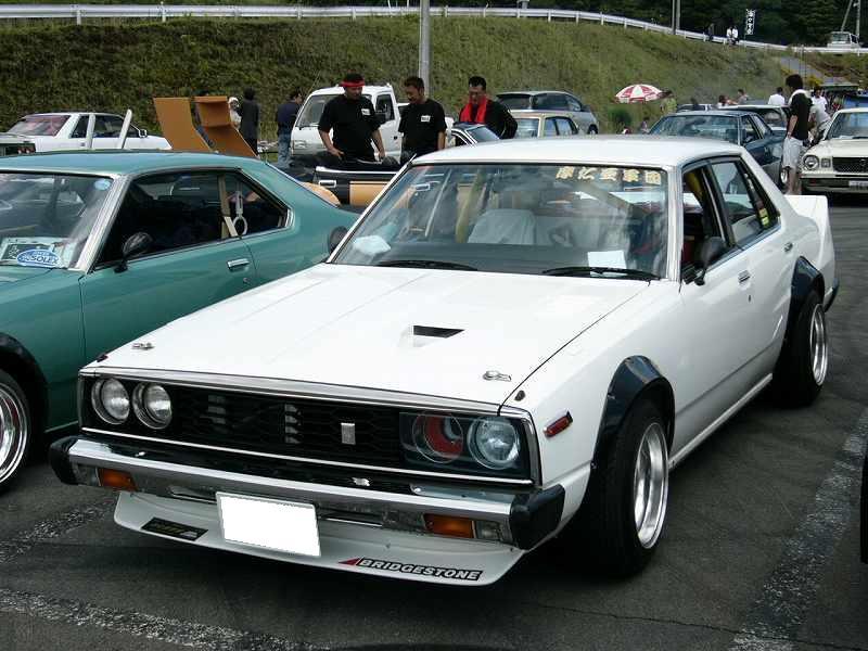 Popular Bosozoku Cars Nissan Skyline C210 Japan