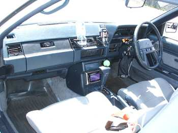 Factory stock Toyota Soarer Z10 interior