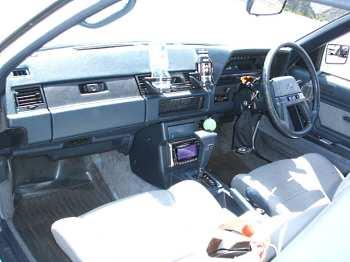 Factory stock Toyota Soarer Z10 interior