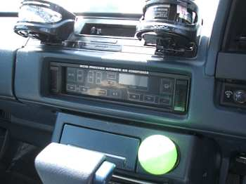 Tiptronic climate control