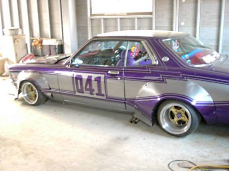 12.5J wide Hart Racing rims on a Mark II MX41