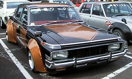 Rare bosozoku car: Toyota Crown MS65 sedan