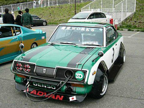 Bosozoku style Toyota Corona Mark II coupe RT70
