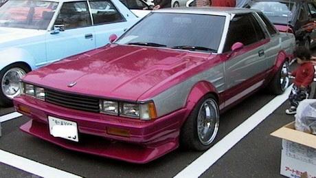 shakotan styled Nissan Gazelle S110