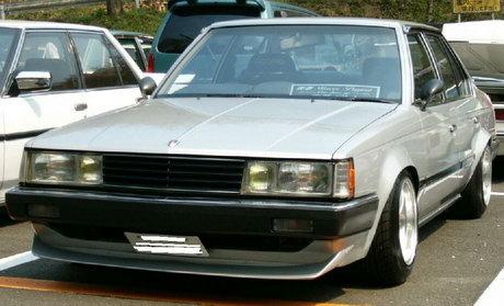 Shakotan styled Toyota Corona T14