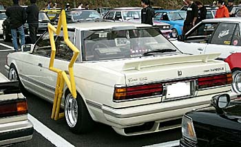 This Toyota Mark II GX71 is the star of the show