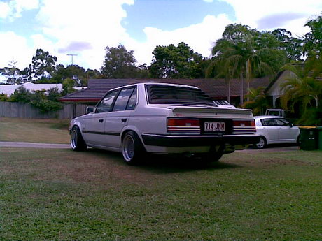 This Corona sedan shows its BMW lines