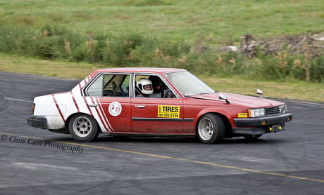 Drifting Toyota Corona AT141