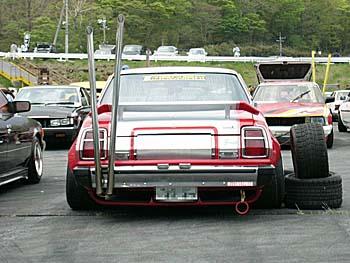 Bosozoku style Toyota Mark II X3