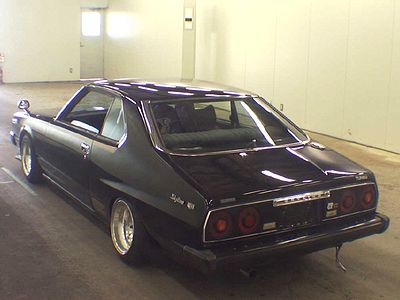 Auctions Cars on Auctions  Bosozoku Styled Skyline C211