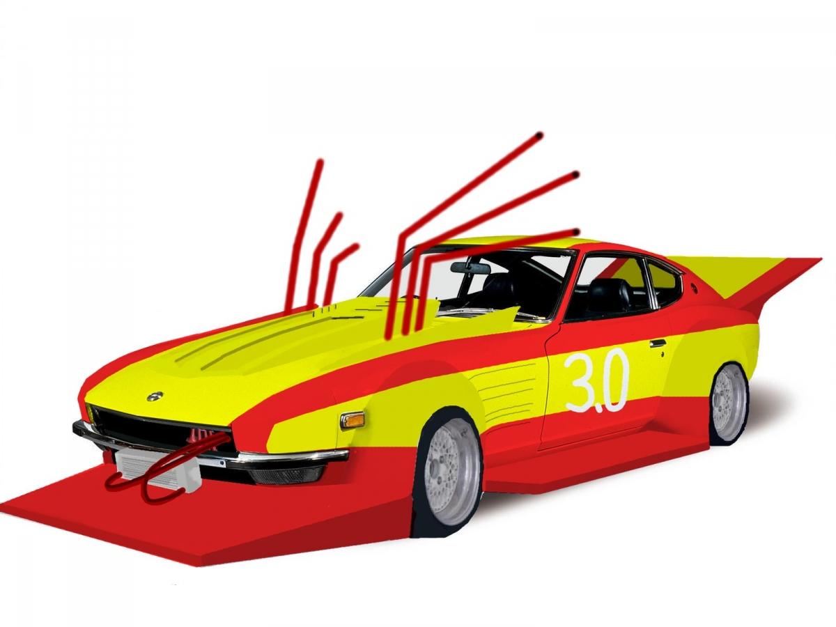 Kaido racer photoshop: Nissan Fairlady Z S30