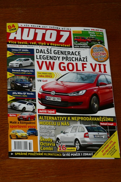 Magazine publication in Auto7