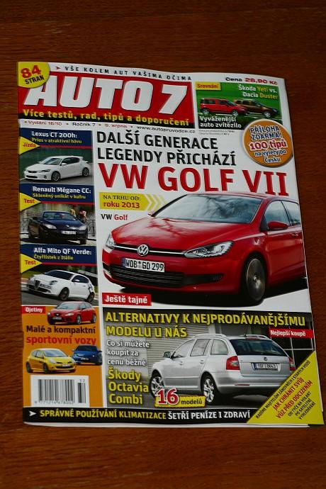 Magazine publication in Auto7