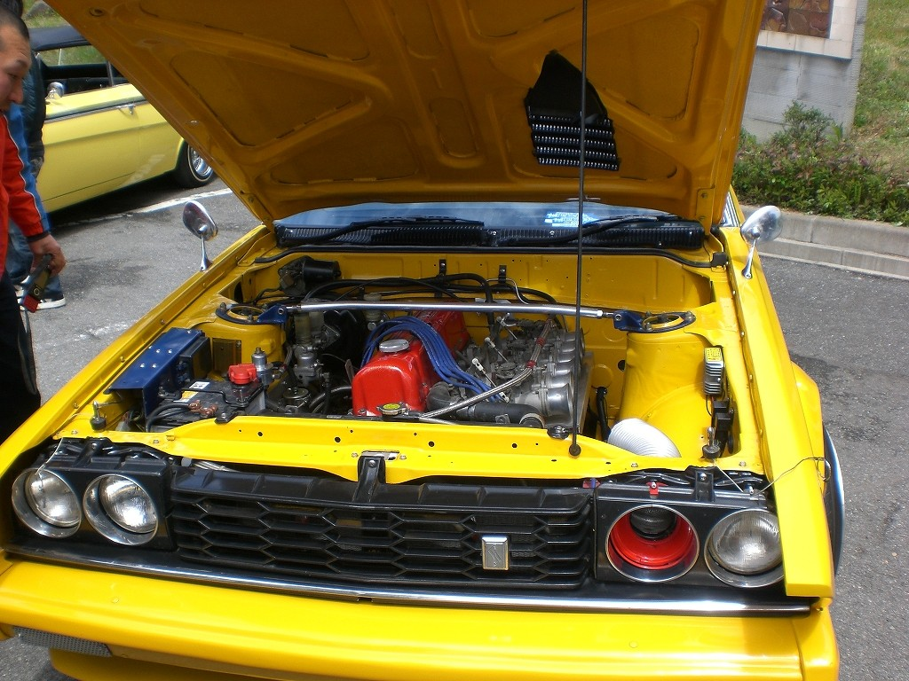 Original L20E with side draft carbs