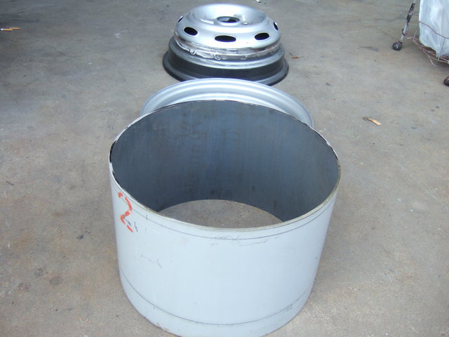 Making of the LPG Bombe rims